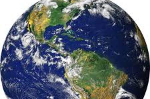 Article : notre planète est malade il faut réagir