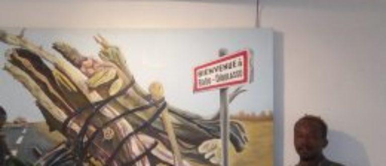 Article : Anou, le peintre qui interpelle par ses tableaux